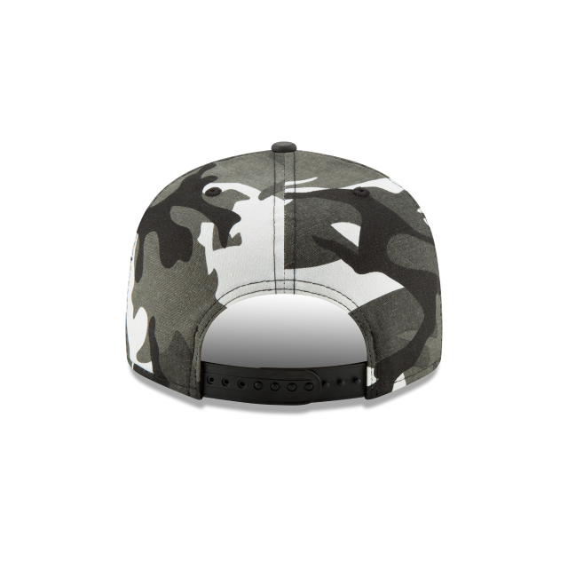 SAN FRANCISCO GIANTS SUEDED UP CAMO 9FIFTY SNAPBACK Rear view