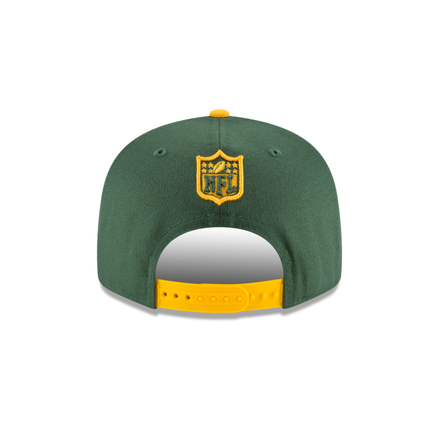 GREEN BAY PACKERS SPOTLIGHT 9FIFTY SNAPBACK Rear view