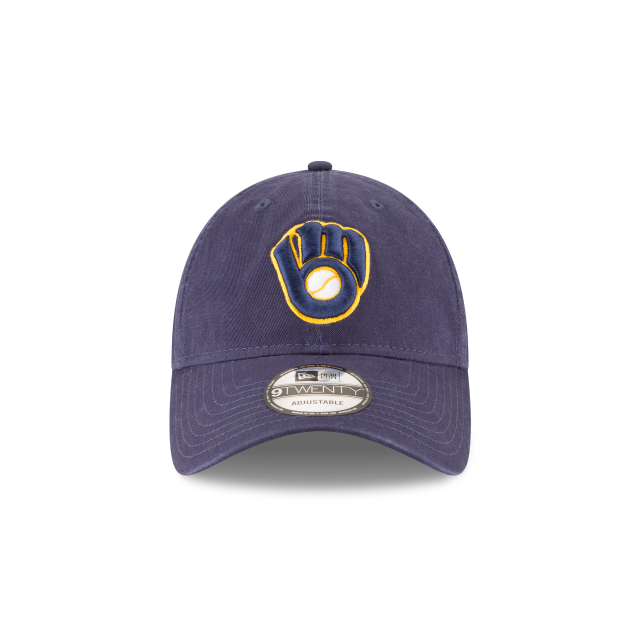 MILWAUKEE BREWERS CORE CLASSIC ALT2 9TWENTY ADJUSTABLE Front view