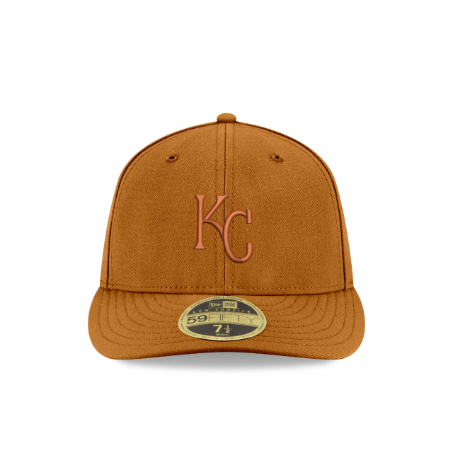 KANSAS CITY ROYALS TONAL LOW PROFILE 59FIFTY FITTED Front view