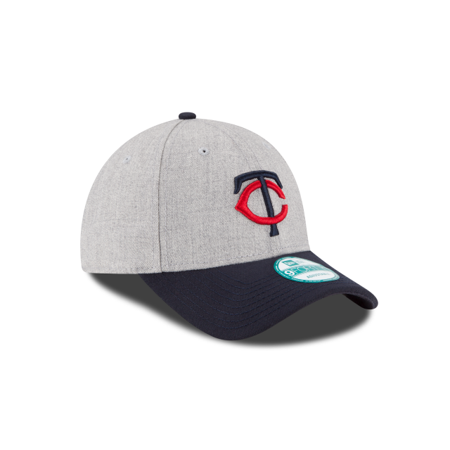 MINNESOTA TWINS HEATHER 9FORTY ADJUSTABLE 3 quarter right view