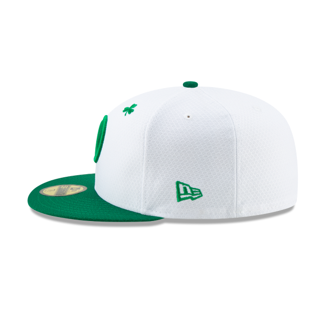 LOS ANGELES DODGERS ST PATRICKS DAY 59FIFTY FITTED Left side view