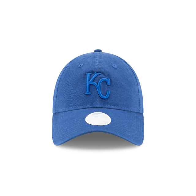 KANSAS CITY ROYALS WOMENS CORE CLASSIC 9TWENTY ADJUSTABLE Front view