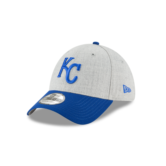 KANSAS CITY ROYALS CHANGE UP REDUX 39THIRTY STRETCH FIT 3 quarter left view