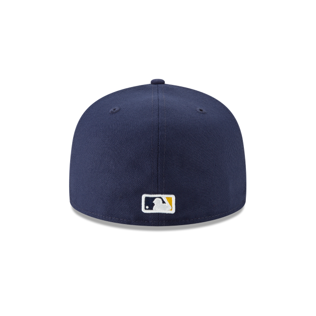 MILWAUKEE BREWERS LOGO PACK 59FIFTY FITTED Rear view