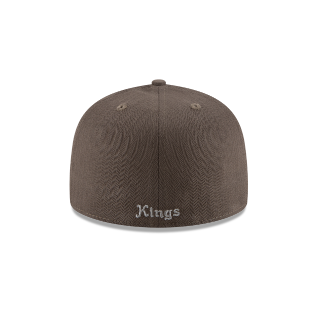 SACRAMENTO KINGS ESSENTIAL PIN 59FIFTY FITTED Rear view