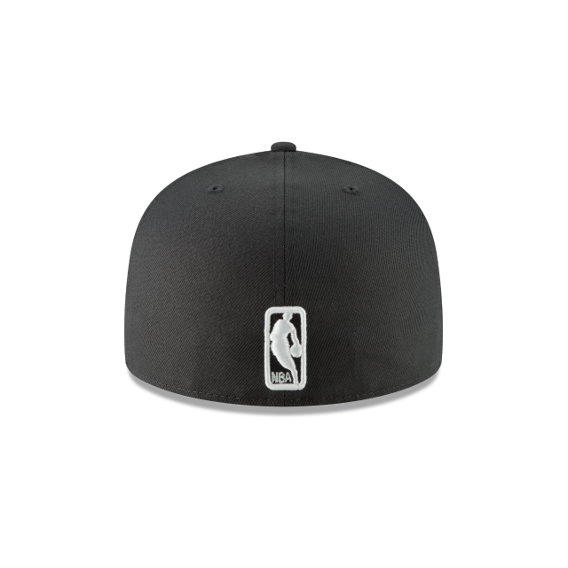 BROOKLYN NETS METAL AND THREAD 59FIFTY FITTED Rear view