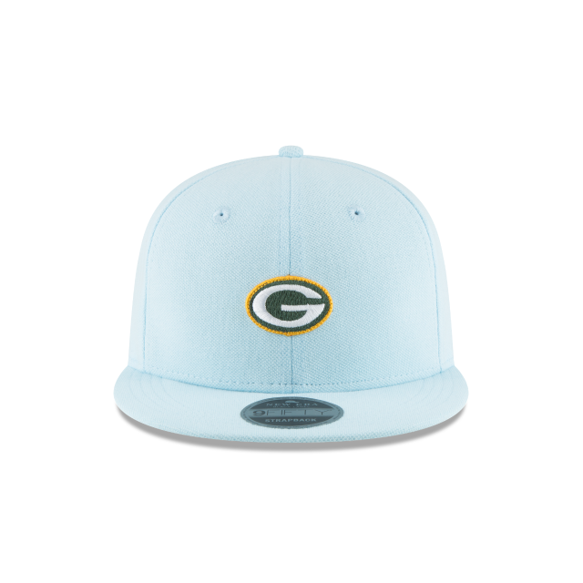 GREEN BAY PACKERS MICRO STITCH 9FIFTY SNAPBACK Front view