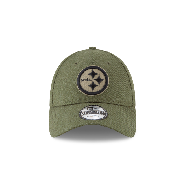 ... PITTSBURGH STEELERS SALUTE TO SERVICE 9TWENTY ADJUSTABLE Front view ... 3252cfe78