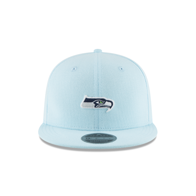 SEATTLE SEAHAWKS MICRO STITCH 9FIFTY SNAPBACK Front view