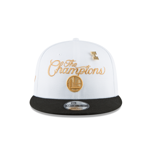 GOLDEN STATE WARRIORS NBA CHAMPS RING CEREMONY 9FIFTY SNAPBACK Front view