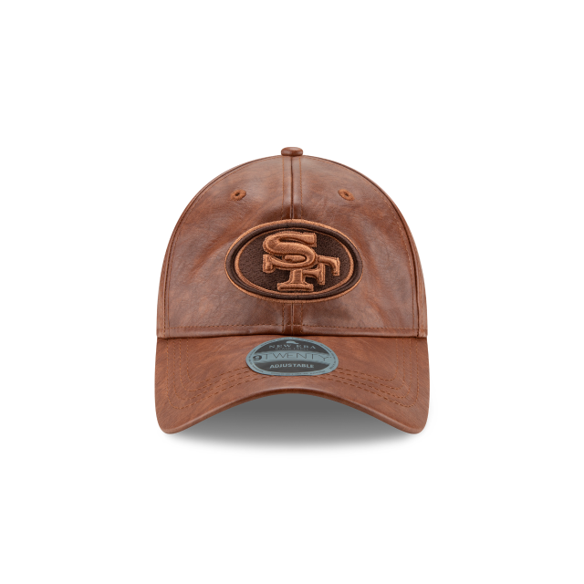 SAN FRANCISCO 49ERS GUARDED FINISH 9TWENTY ADJUSTABLE Front view