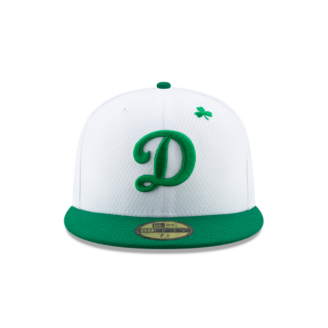 LOS ANGELES DODGERS ST PATRICKS DAY 59FIFTY FITTED Front view