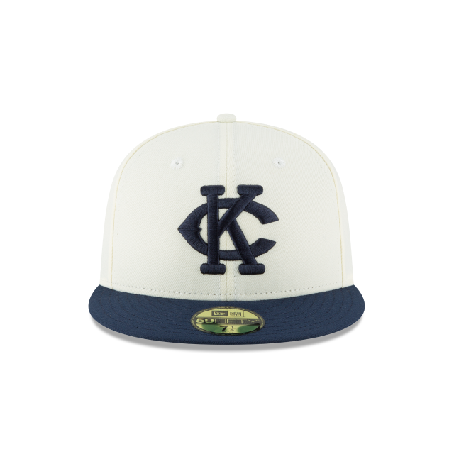 KANSAS CITY MONARCHS TURN BACK THE CLOCK 59FIFTY FITTED Front view