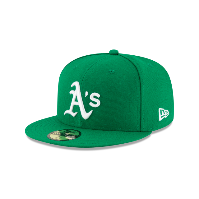 OAKLAND ATHLETICS ALTERNATE AC 59FIFTY FITTED 3 quarter left view