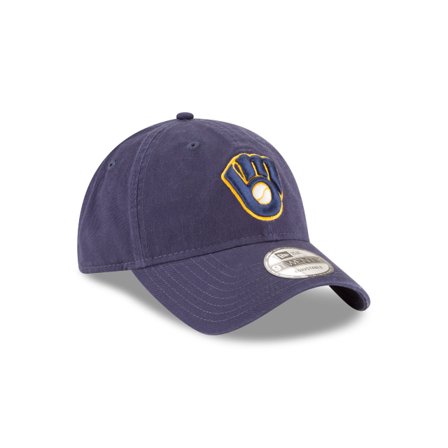 MILWAUKEE BREWERS CORE CLASSIC ALT2 9TWENTY ADJUSTABLE 3 quarter right view