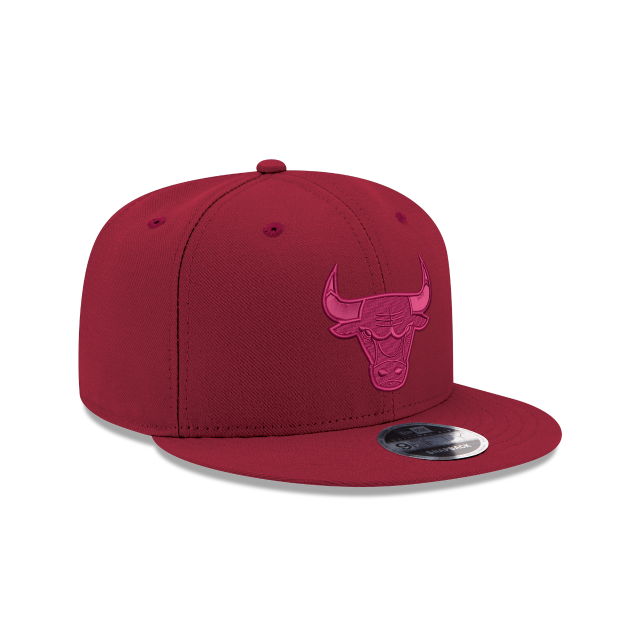 CHICAGO BULLS RED TONAL 9FIFTY SNAPBACK 3 quarter right view