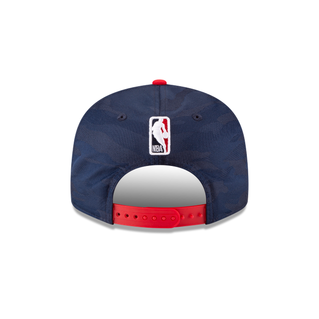 WASHINGTON WIZARDS 2018 NBA AUTHENTICS: TIP OFF SERIES TWO-TONE 9FIFTY SNAPBACK Rear view