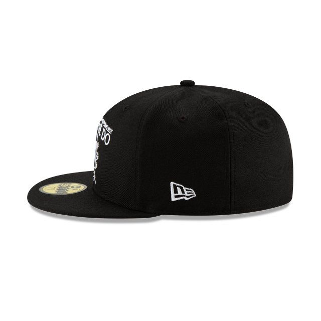 BRUCE LEE BLACK 59FIFTY FITTED Left side view