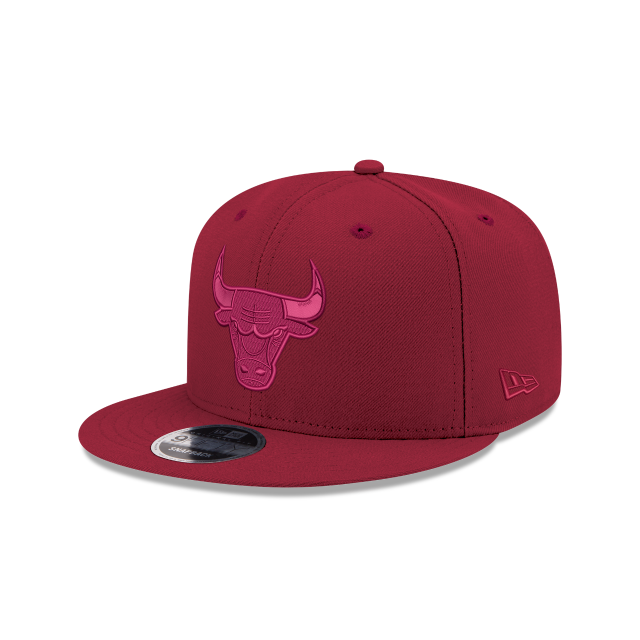 CHICAGO BULLS RED TONAL 9FIFTY SNAPBACK 3 quarter left view
