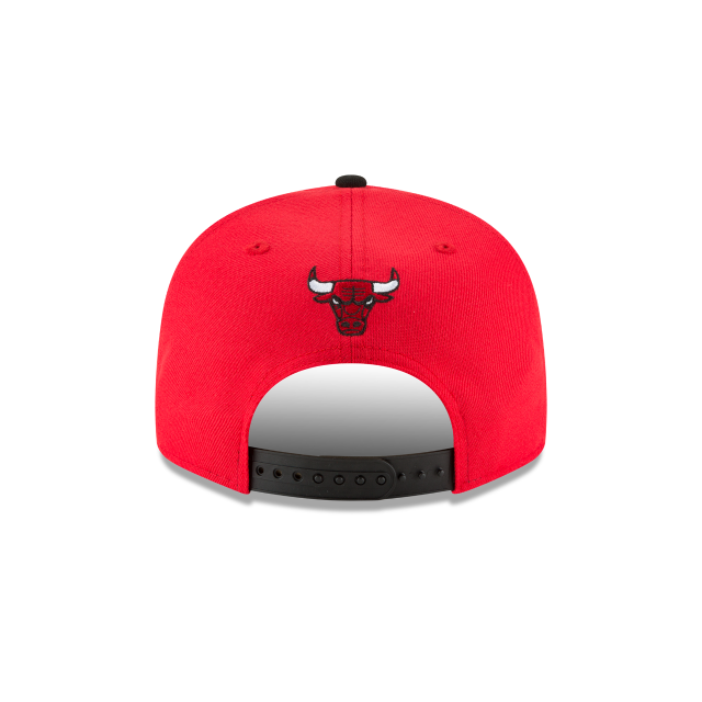 CHICAGO BULLS MELTING LOGO 9FIFTY SNAPBACK Rear view