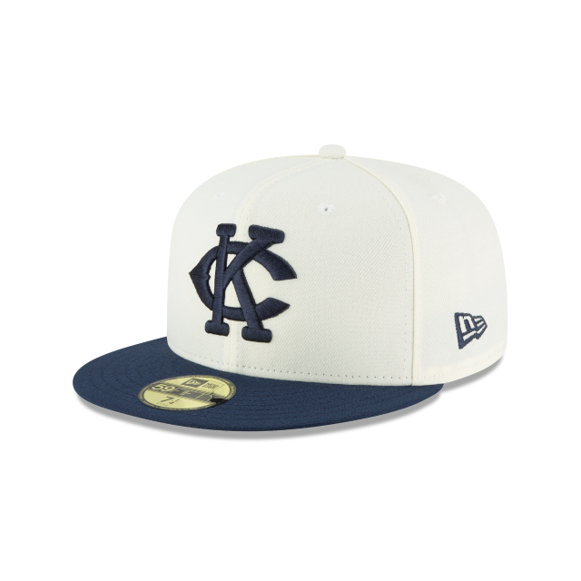 KANSAS CITY MONARCHS TURN BACK THE CLOCK 59FIFTY FITTED 3 quarter left view