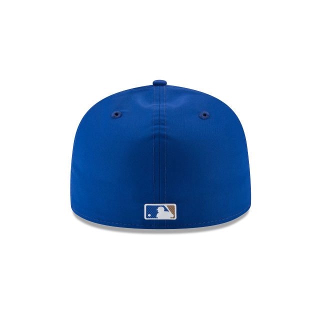 KIDS KANSAS CITY ROYALS BATTING PRACTICE PROLIGHT 59FIFTY FITTED Rear view