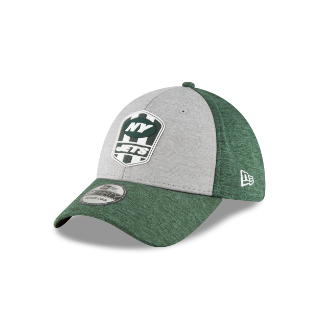 NEW YORK JETS OFFICIAL SIDELINE ROAD KIDS 39THIRTY STRETCH FIT 3 quarter  left view 4db065fe328d