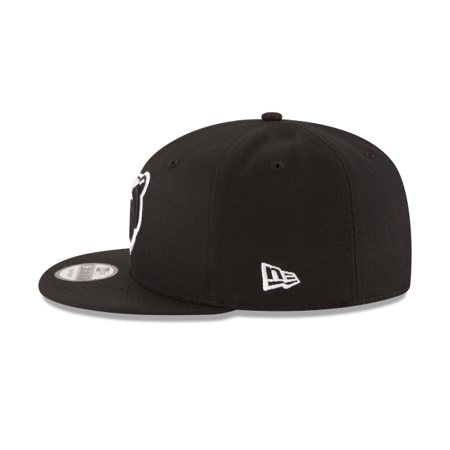 MEMPHIS GRIZZLIES BASIC BLACK 9FIFTY SNAPBACK Left side view db2bfed105e