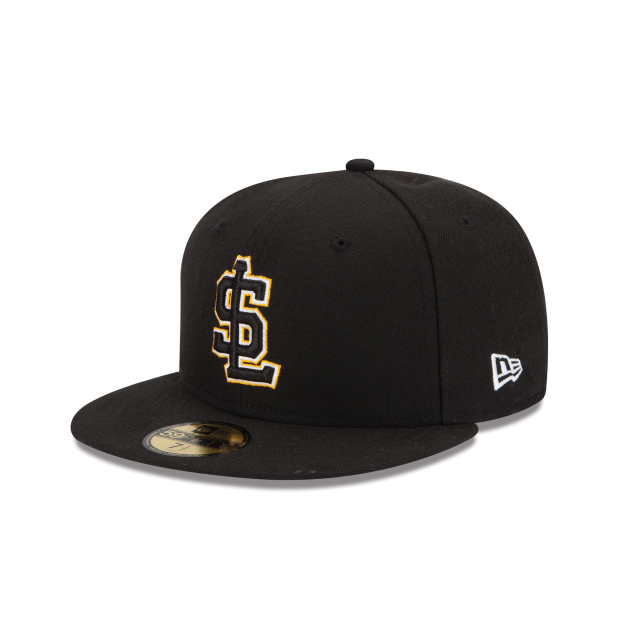 SALT LAKE CITY BEES AUTHENTIC COLLECTION 59FIFTY FITTED 3 quarter left view