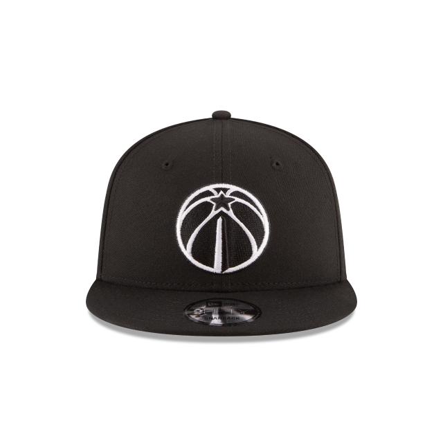 WASHINGTON WIZARDS BASIC BLACK 9FIFTY SNAPBACK Front view
