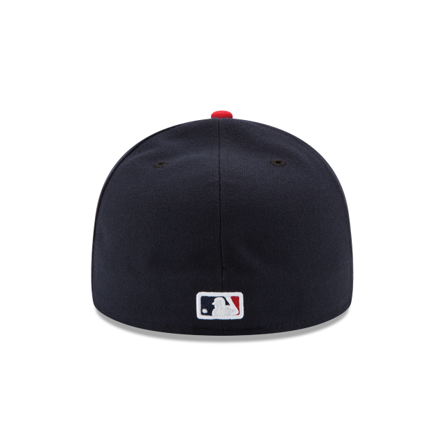 MINNESOTA TWINS AUTHENTIC COLLECTION 59FIFTY FITTED Rear view