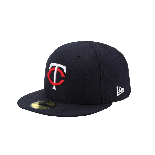 MINNESOTA TWINS MY FIRST KIDS AUTHENTIC COLLECTION 59FIFTY FITTED 3 quarter left view