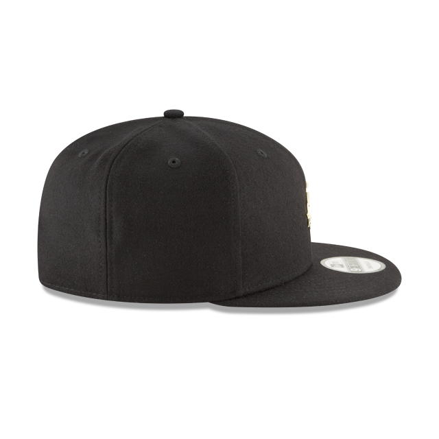 SAN ANTONIO SPURS BADGE SLICK 9FIFTY SNAPBACK Right side view