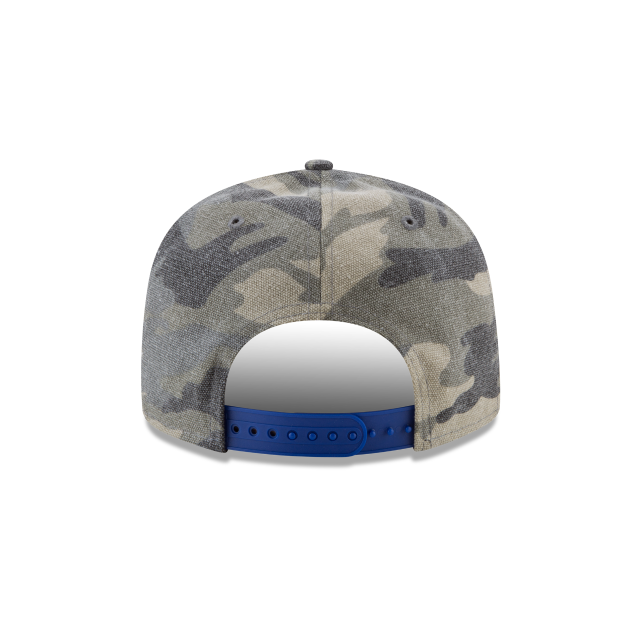 LOS ANGELES CLIPPERS CANVAS CAMO 9FIFTY SNAPBACK Rear view