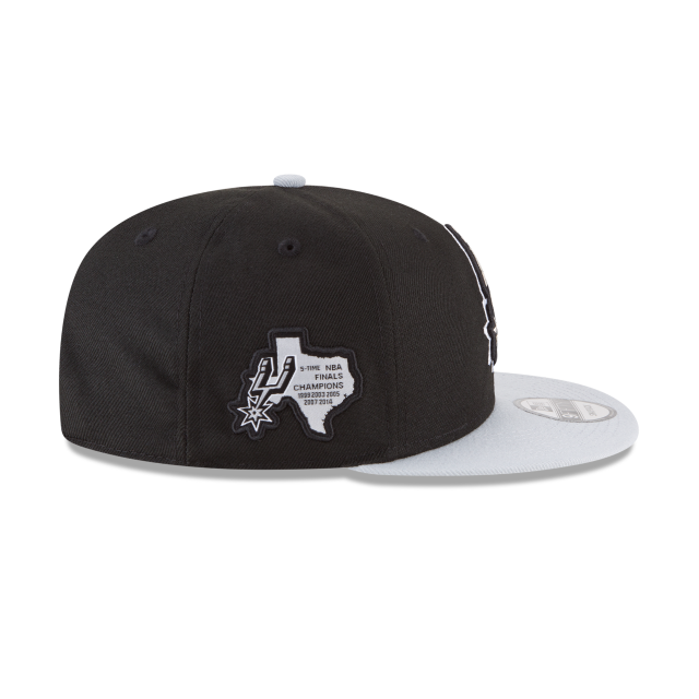 SAN ANTONIO SPURS SIDE STATED 9FIFTY SNAPBACK Right side view