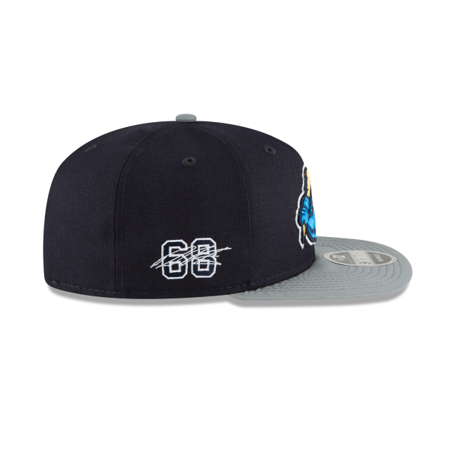 TRENTON THUNDER DELLIN BETANCES PLAYER DESIGN ORIGINAL FIT 9FIFTY SNAPBACK Right side view