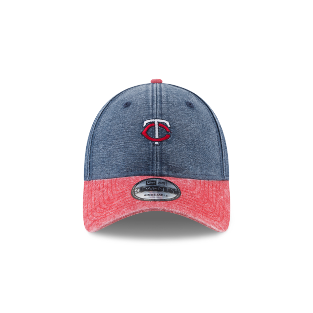 MINNESOTA TWINS RUGGED CANVAS 9TWENTY ADJUSTABLE Front view
