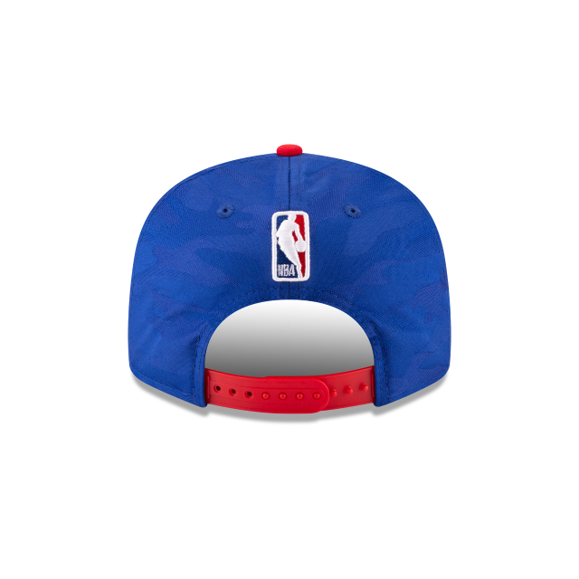 PHILADELPHIA 76ERS 2018 NBA AUTHENTICS: TIP OFF SERIES TWO-TONE 9FIFTY SNAPBACK Rear view