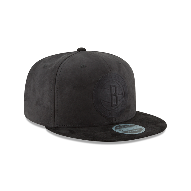 BROOKLYN NETS SNAKESKIN 9FIFTY SNAPBACK 3 quarter right view