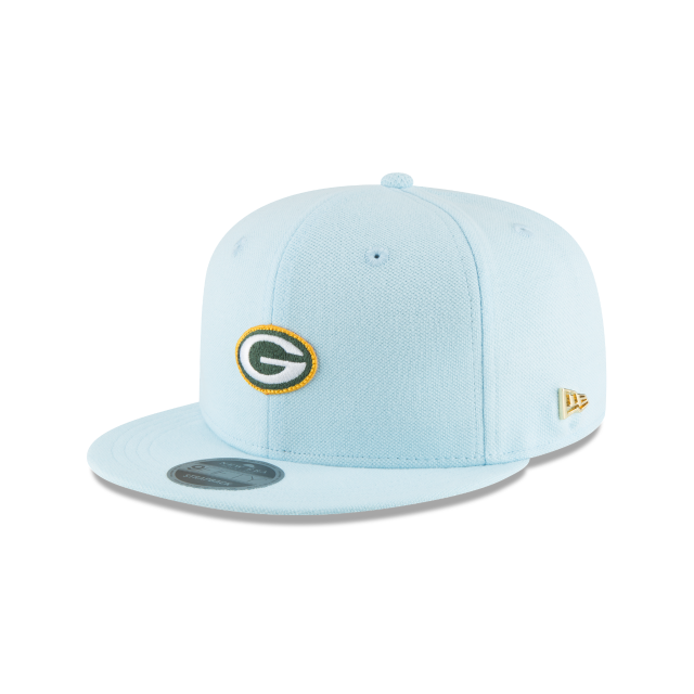 GREEN BAY PACKERS MICRO STITCH 9FIFTY SNAPBACK 3 quarter left view
