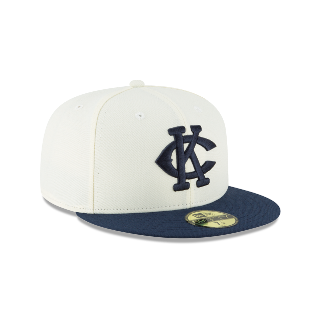 KANSAS CITY MONARCHS TURN BACK THE CLOCK 59FIFTY FITTED 3 quarter right view