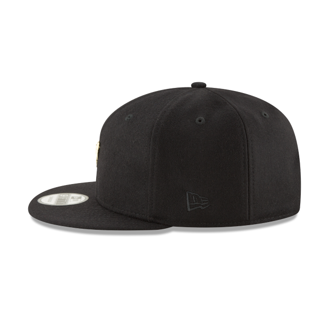 SAN ANTONIO SPURS BADGE SLICK 9FIFTY SNAPBACK Left side view