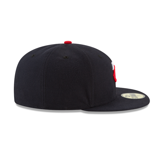 MINNESOTA TWINS AUTHENTIC COLLECTION 59FIFTY FITTED Right side view
