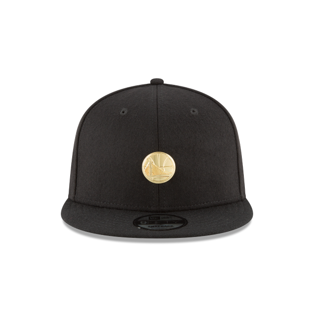 GOLDEN STATE WARRIORS BADGE SLICK 9FIFTY SNAPBACK Front view