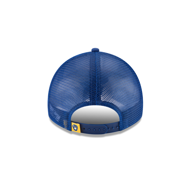 MILWAUKEE BREWERS STACKED CLASSIC 9TWENTY ADJUSTABLE Rear view
