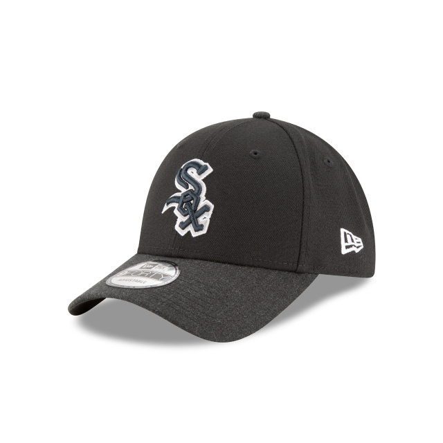 CHICAGO WHITE SOX HEATHER 9FORTY ADJUSTABLE 3 quarter left view