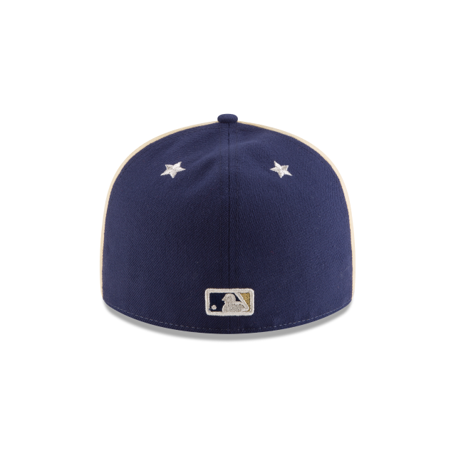 MILWAUKEE BREWERS ALL STAR GAME LOW PROFILE 59FIFTY FITTED Rear view