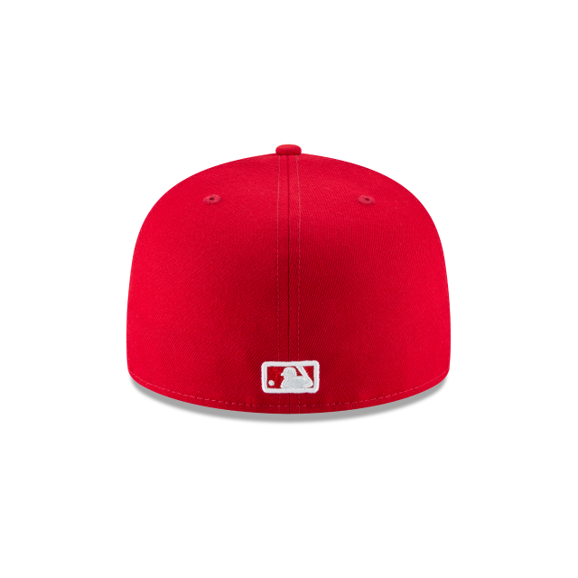 CHICAGO WHITE SOX SCARLET BASIC 59FIFTY FITTED Rear view