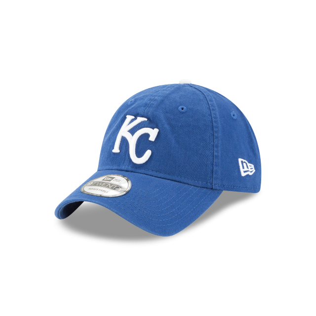 KANSAS CITY ROYALS CORE CLASSIC 9TWENTY ADJUSTABLE 3 quarter left view